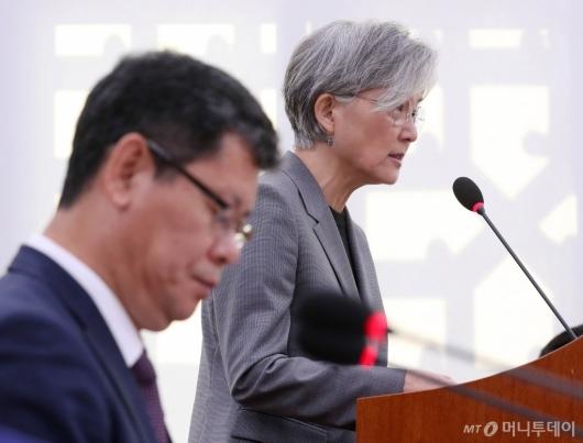 [사진]국감 출석한 강경화 장관