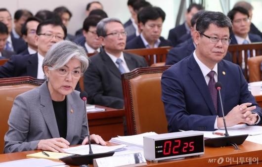 [사진]발언하는 강경화 장관