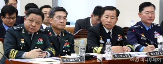 [사진]국감 출석한 합참의장