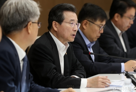 [사진]모두발언하는 김용범 기재부 차관