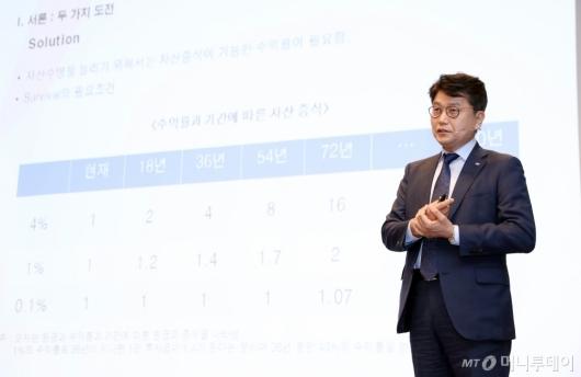 [사진]김경록 소장 '인구구조 변화와 자본시장의 역할'