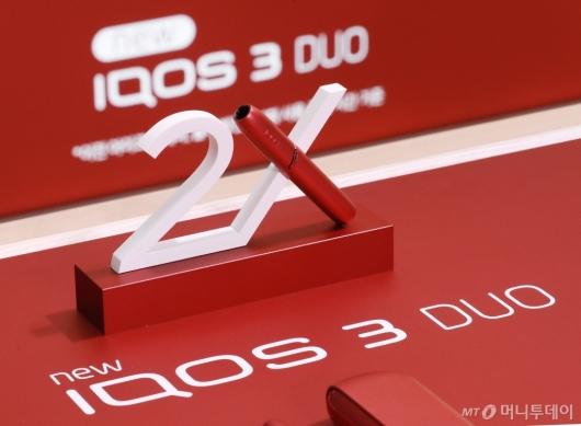 [사진]'충전없이 2회 사용' 아이코스3 듀오 출시