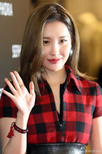[사진]선미 '더 예뻐진 얼굴'