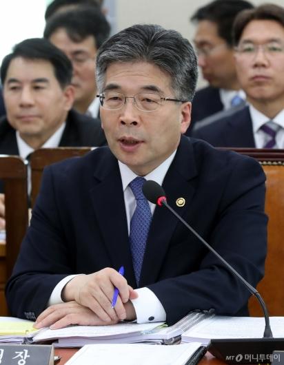 [사진]국정감사 출석한 민갑룡 청장