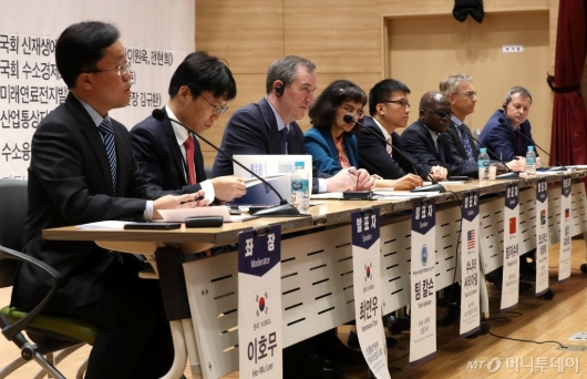 [사진]수소경제 위해 모인 각국 전문가들