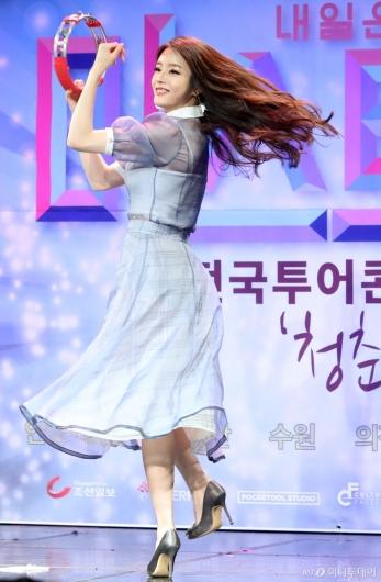 [사진]박성연 '신나는 템버린'