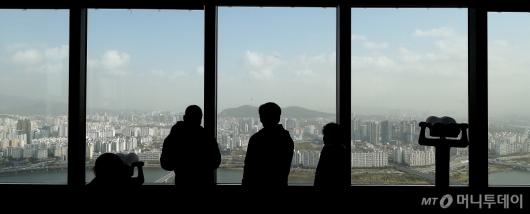 [사진]도심 습격한 '미세먼지-황사'