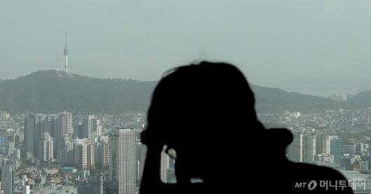 [사진]'황사의 습격'