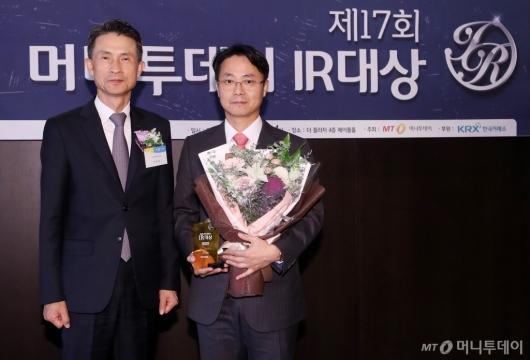 [사진]SK이노베이션 '머니투데이 IR대상' 최우수 기업 선정