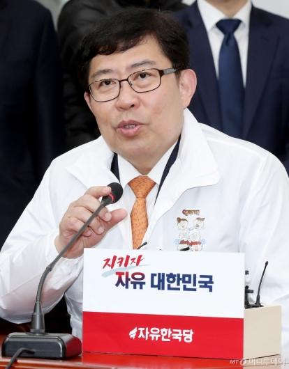 [사진]소감 말하는 윤창현 서울시립대 교수가