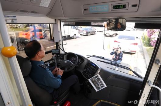 [사진]'경찰 수소버스의 내부'