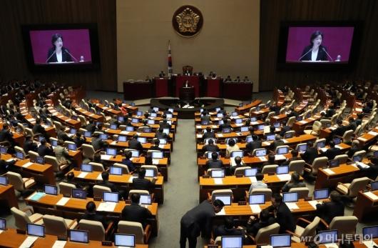 [사진]국회 비교섭단체 대표연설