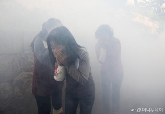 [사진]2019 재난대응 안전한국훈련 '훈련도 실전처럼'