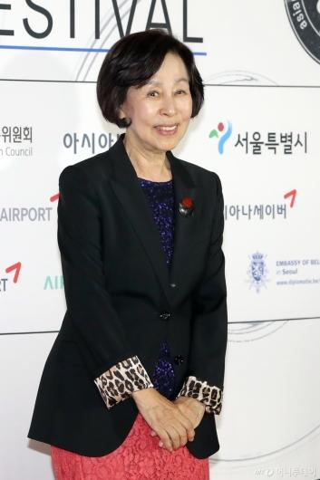 [사진]손숙, 'AISFF'의 이사장