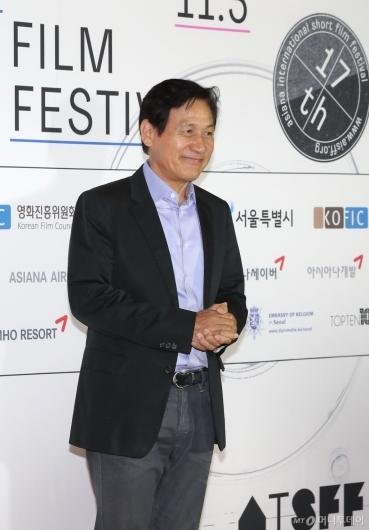 [사진]안성기, 'AISFF'의 집행위원장