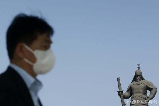[사진]마스크 착용한 시민