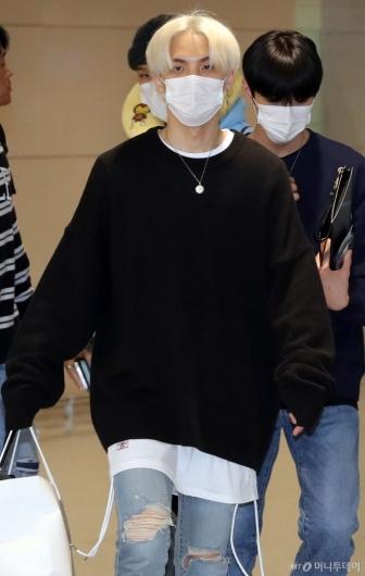 [사진]CIX 비엑스 '반짝이는 금발'