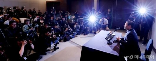 [사진]기자회견하는 박찬주