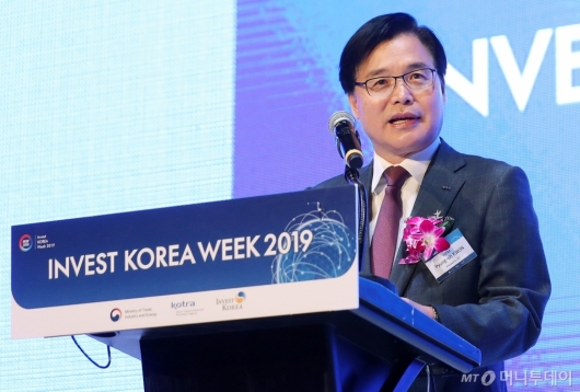 [사진]권평오 사장 '2019 외국인 투자주간' 개회사