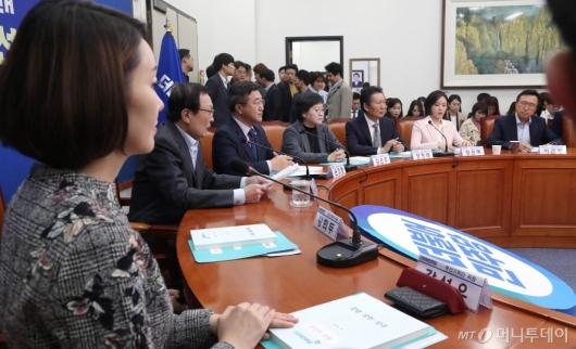[사진]민주당 제1차 총선기획단 회의