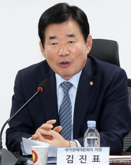 [사진]발언하는 김진표