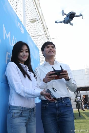 [사진]DJI, 초경량 접이식 드론 '매빅 미니' 국내 출시