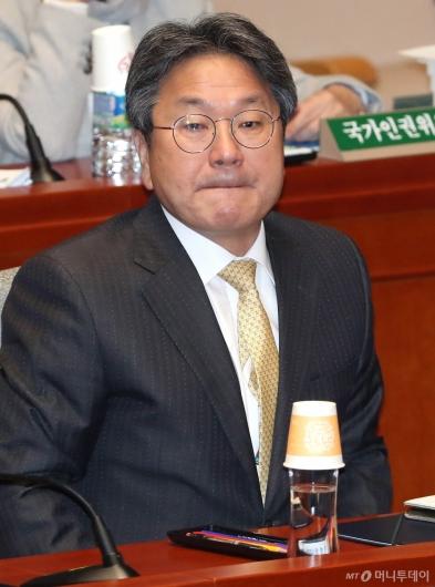 [사진]강기정, 국회 예결위 출석