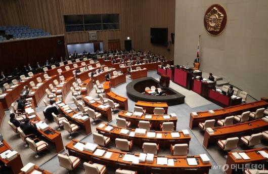 [사진]지연되는 국회 예결위