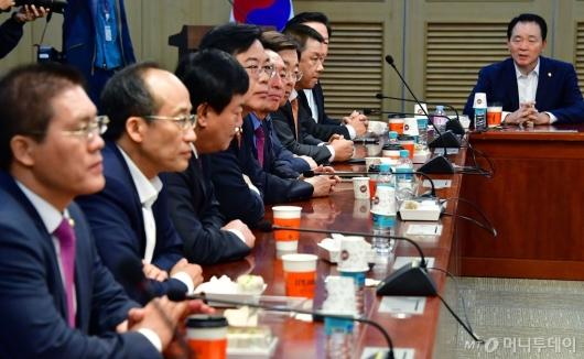 [사진]한국당 초선 의원 모임