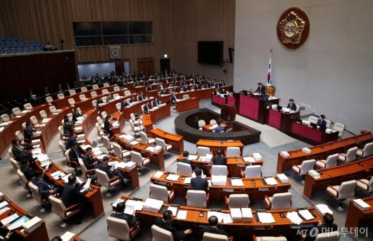 [사진]국회 예결위 전체회의