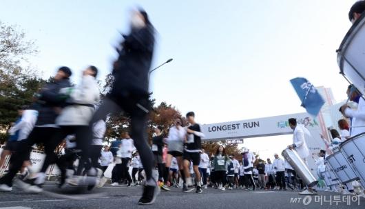 [사진]'2019 아이오닉 롱기스트런' 마라톤대회