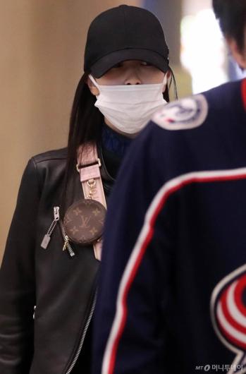 [사진]입국하는 트와이스 미나