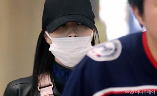 [사진]미나 '모자아래 살짝 보이는 눈빛'
