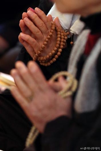 [사진]수능 D-4, 간절한 기도