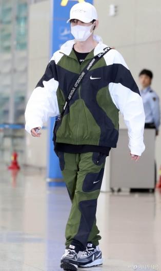 [사진]운동복 차림의 은혁