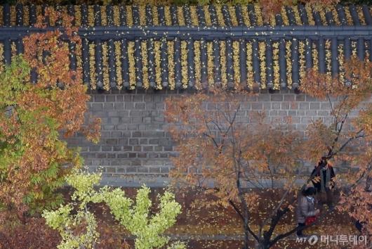 [사진]낙엽 쌓인 정동길