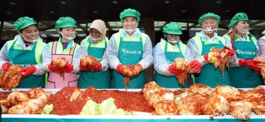 [사진]'김장으로 나누는 사랑'