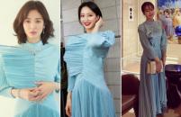 송혜교·수지·선미…★가 사랑한 '명품옷'