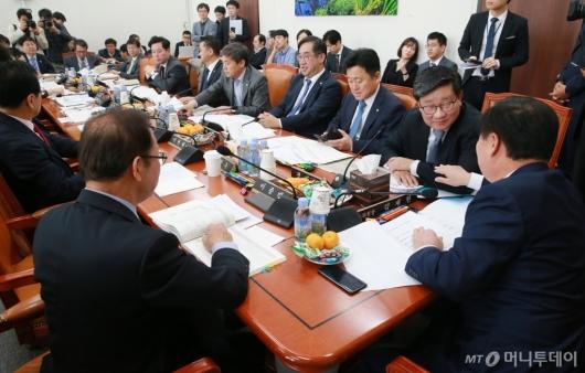 [사진]예산안조정소위
