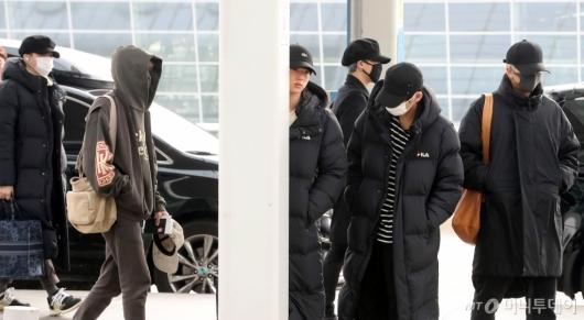 [사진]출국하는 BTS