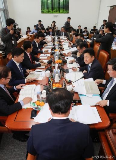 [사진]국회 예결위 예산소위