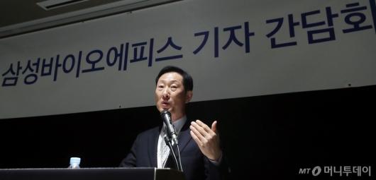 [사진]고한승 대표 '삼성바이오에피스 흑자 전환 기대'