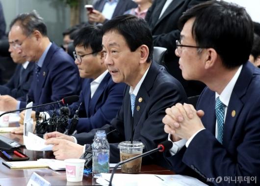 [사진]발언하는 진영 장관