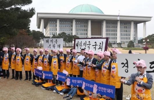 [사진]국회 우리 한돈 사랑 캠페인