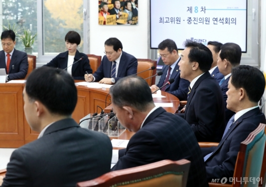 [사진]회의 발언하는 손학규 대표