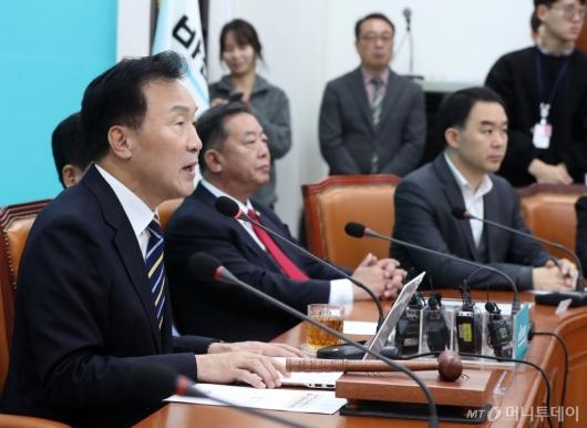 [사진]바른미래당 최고위원-중진의원 연석회의