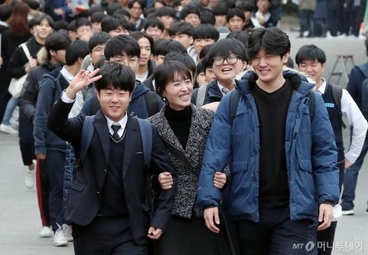 [사진]'고3 수험생이 나가신다'