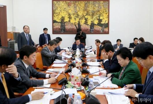 [사진]국회 예산안조정소위원회의