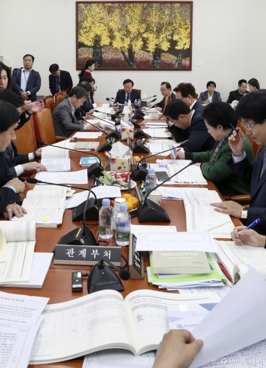 [사진]예결위 예산안조정소위원회의