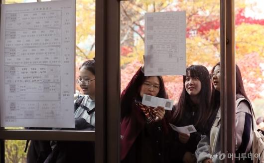 [사진]'오늘은 수능 예비소집일'